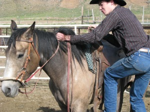 Saddle-Bronc Riding